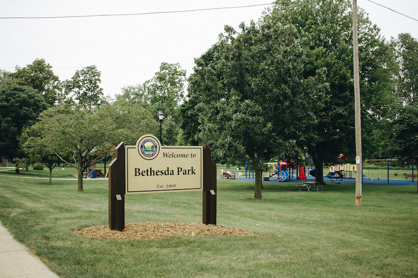 The playground at bethesda park.