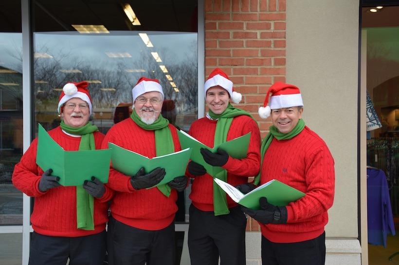 A group of Christmas Carolers.